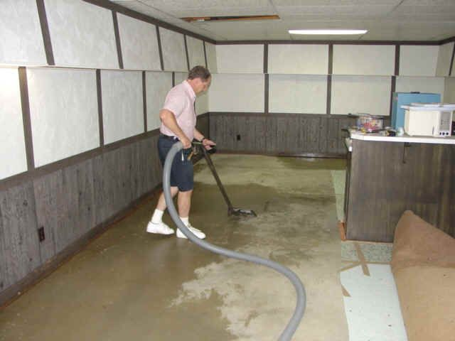 How To Clean Up Your Flooded Basement?